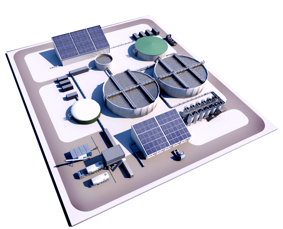 modular and sustainable wastewater treatment plant, Verdygo