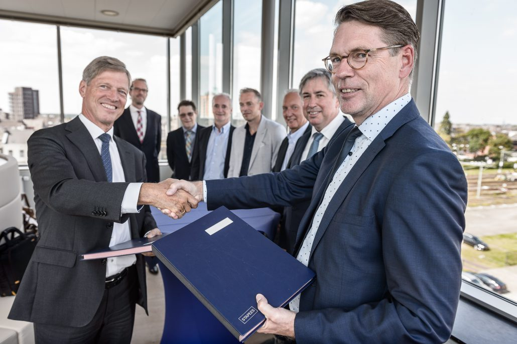Verdygo and Strukton International commit to long-term cooperation The marketing and building of sewage treatment plants in the Middle East
